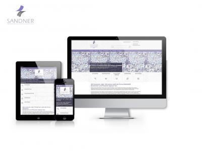 Responsive Web Shop Sandner