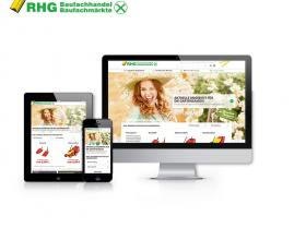 Responsive showcase presentation rhg